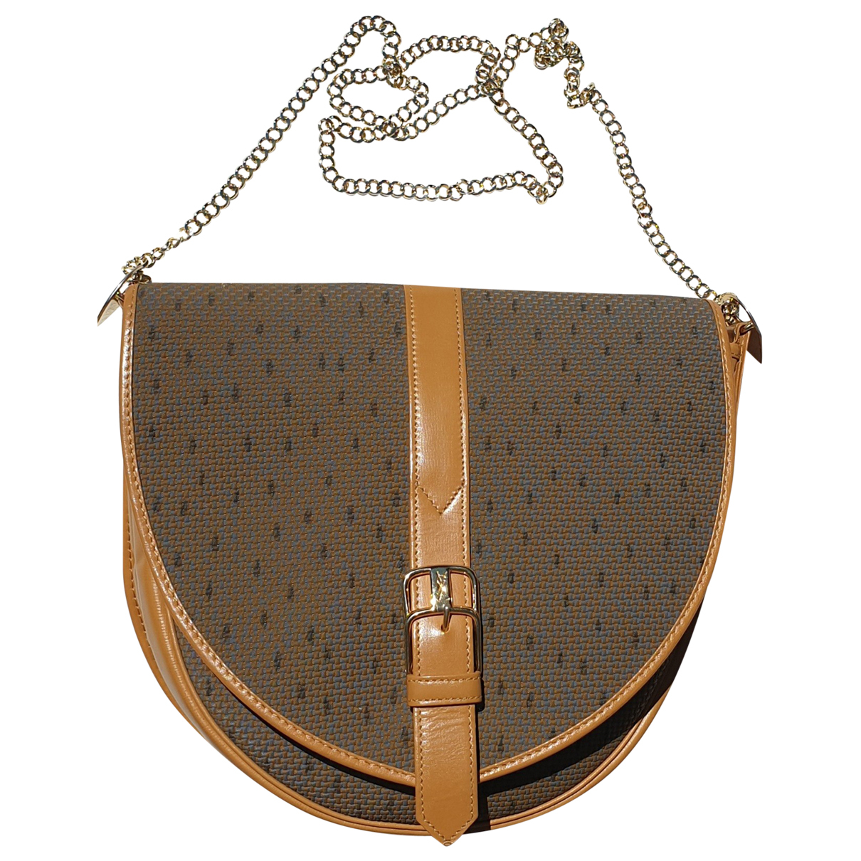 Yves Saint Laurent \N Camel Cloth handbag for Women \N