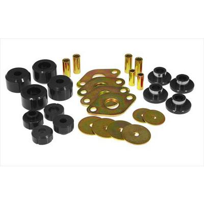 Prothane Motion Control Body Mount Kit (Black) - 18-103-BL