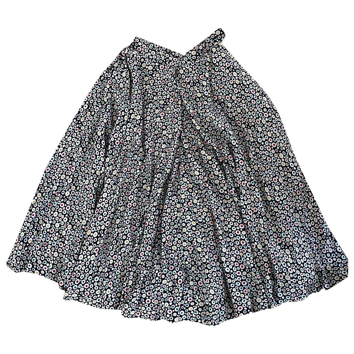 Lanvin \N Multicolour Silk skirt for Women 40 IT