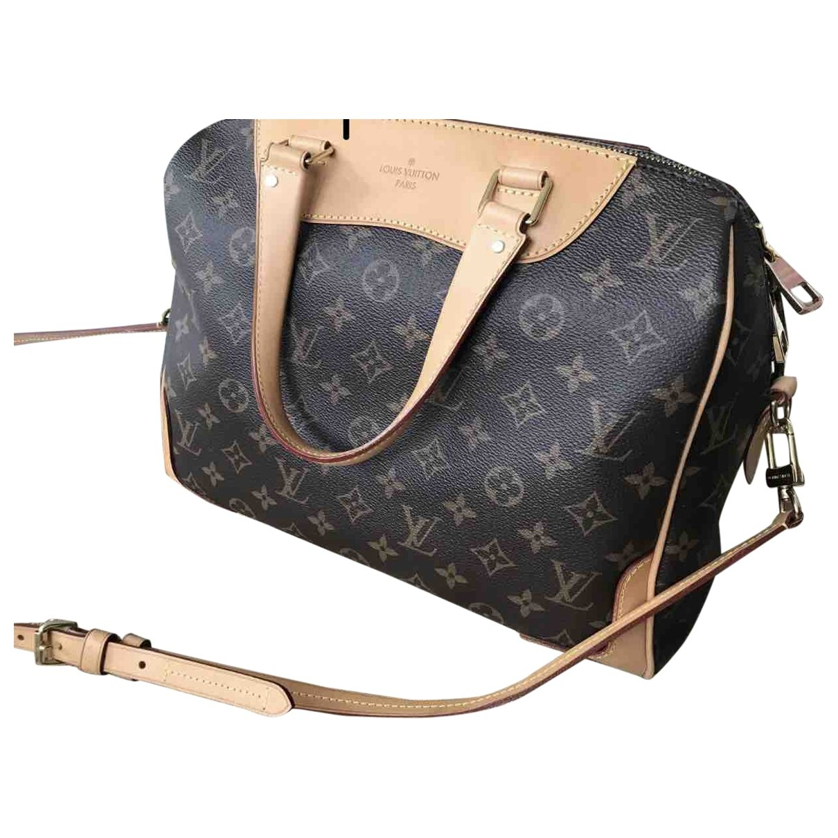 Louis Vuitton Retiro PM Brown Cloth handbag for Women \N
