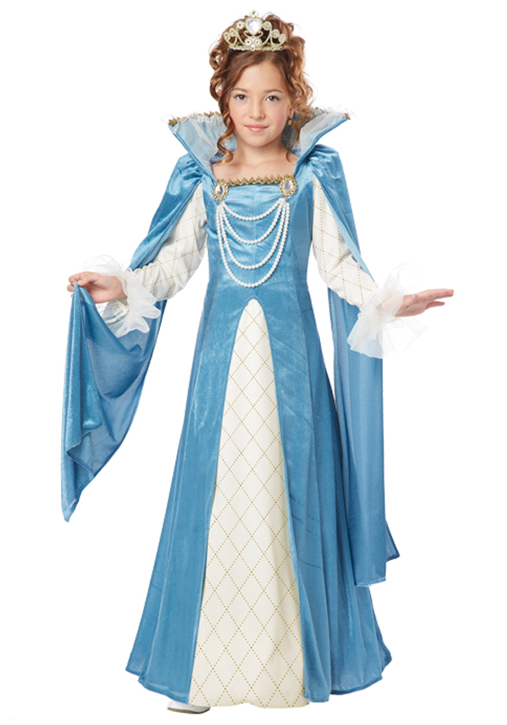 Girl's Renaissance Queen Costume