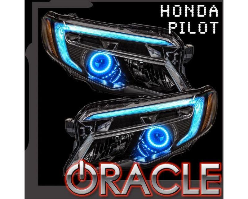 Oracle Lighting 1323-330 Halo + DRL Kit ColorSHIFT Honda Pilot 2016-2018