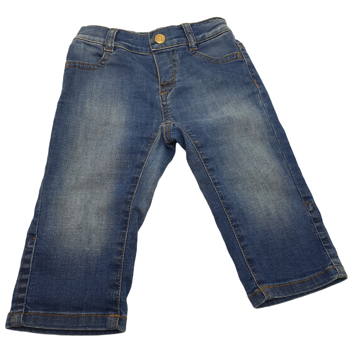 Gucci \N Blue Denim - Jeans Trousers for Kids 9 months - up to 71cm FR