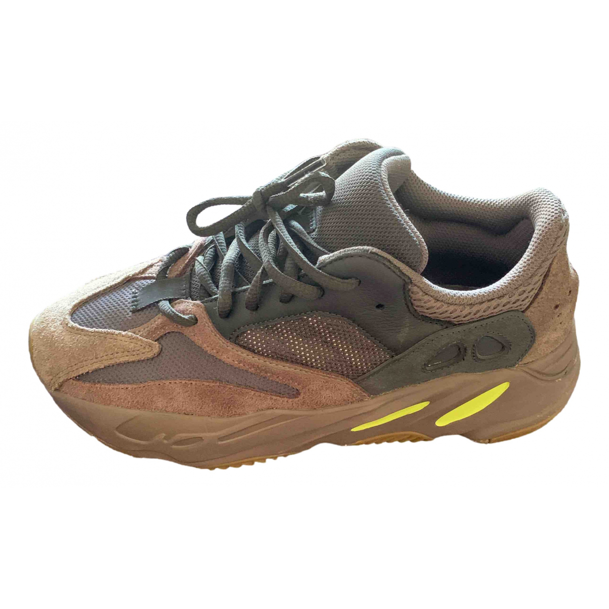 Yeezy X Adidas Boost 700 V1  Brown Suede Trainers for Women 40 EU