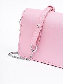 Deer Head Detail Chain Bag