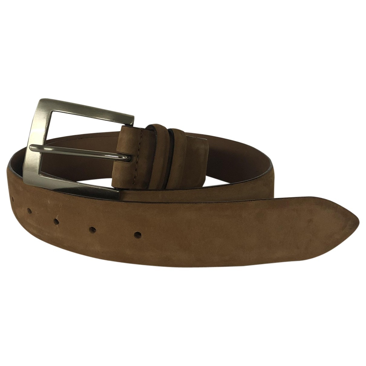 Orciani \N Camel Leather belt for Men 90 cm
