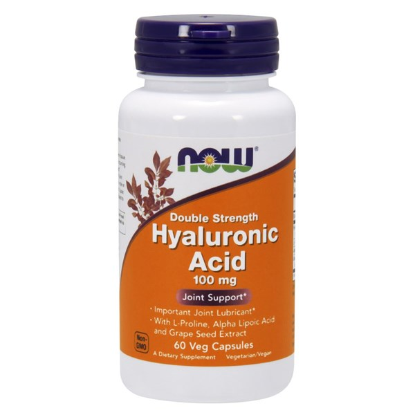 Hyaluronic Acid 60 Vcaps by Now Foods
