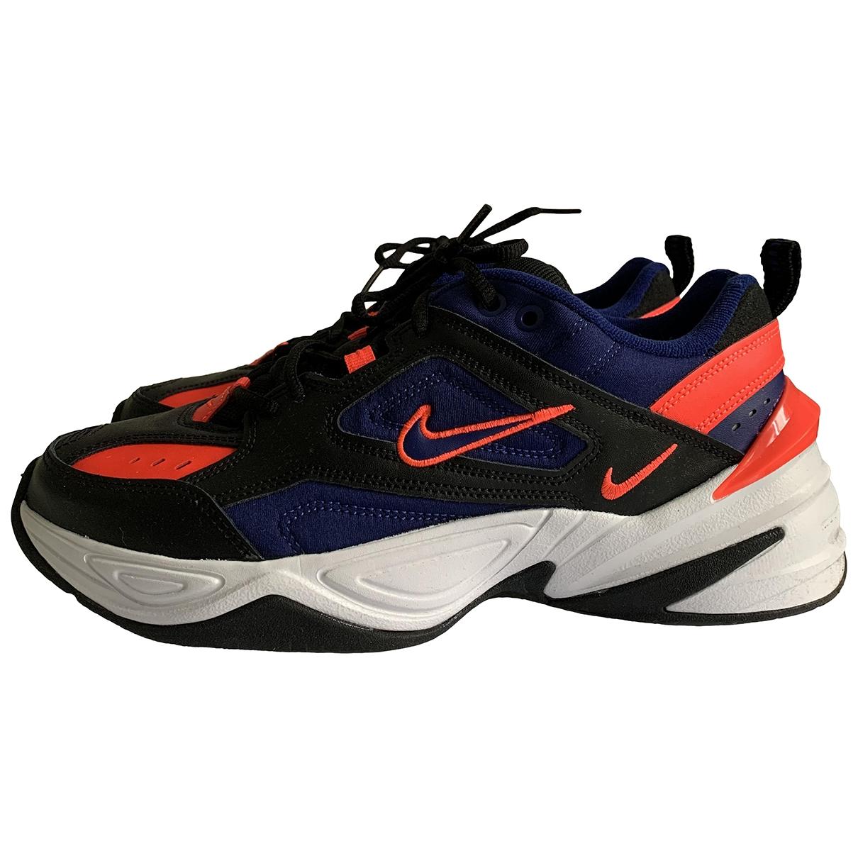 Nike M2K Tekno Blue Leather Trainers for Men 42.5 EU