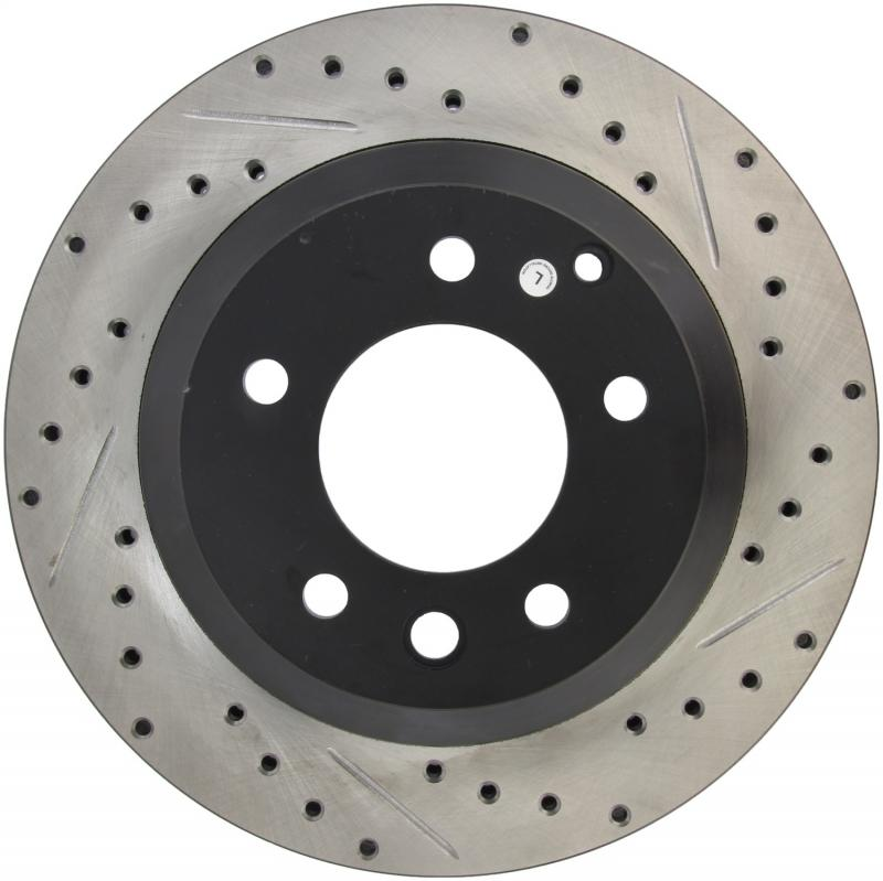StopTech 127.33078L Sport Drilled/Slotted Brake Rotor;Front and Rear Left Rear Left