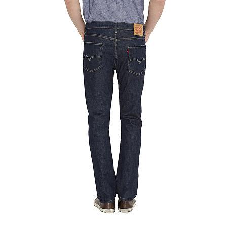 Levi's Mens 513 Stretch Slim Fit Jean, 38 32, Blue