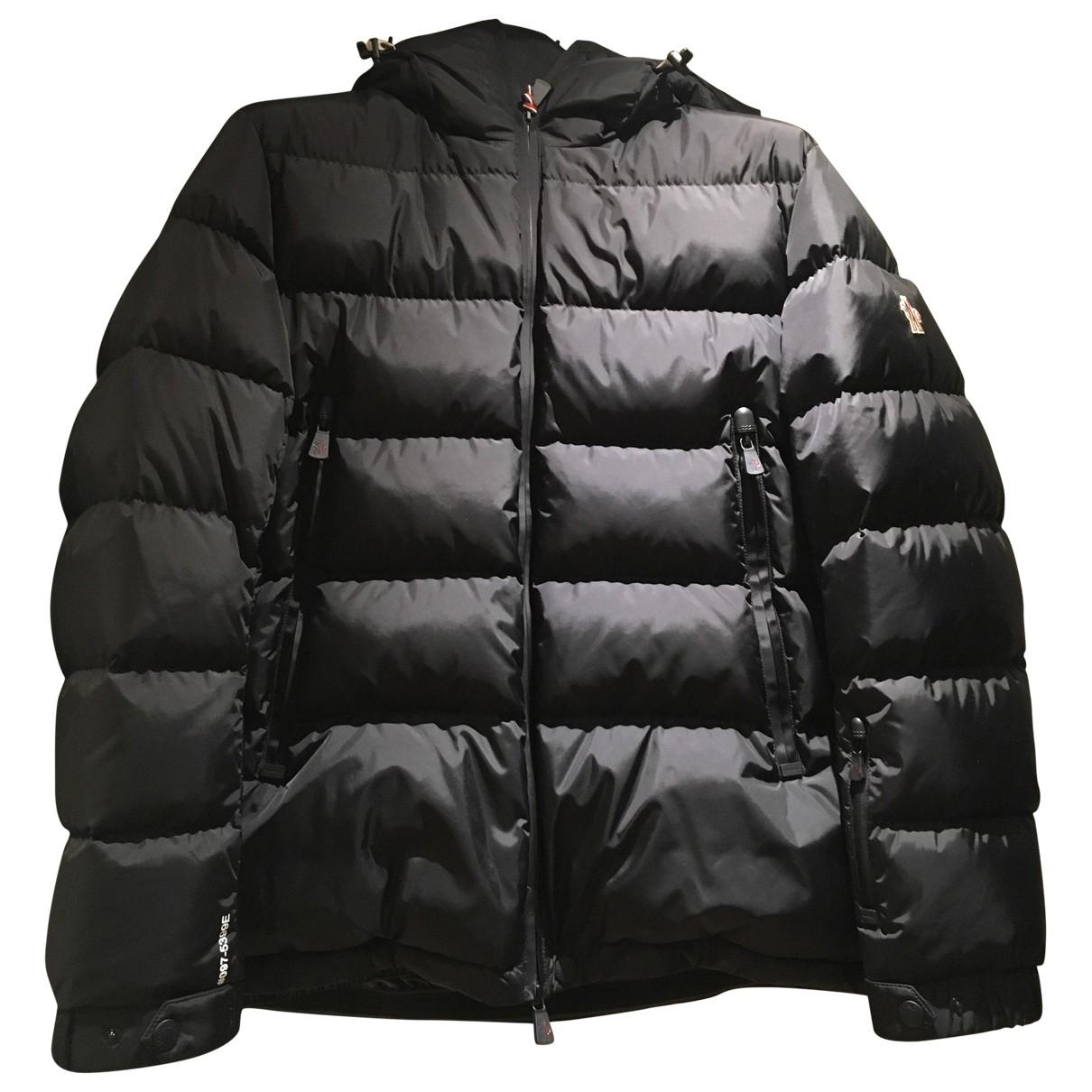 Moncler Grenoble Black coat  for Men 4 0 - 6