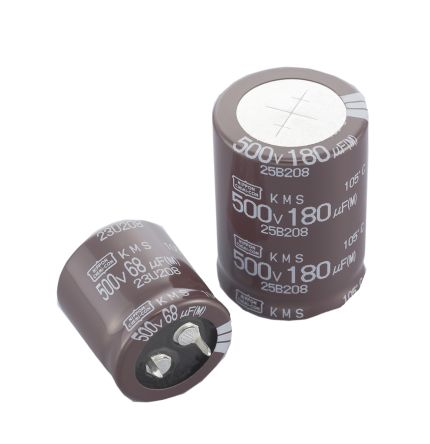 Nippon Chemi-Con 470μF Electrolytic Capacitor 450V dc, Through Hole - EKMS451VSN471MA40S