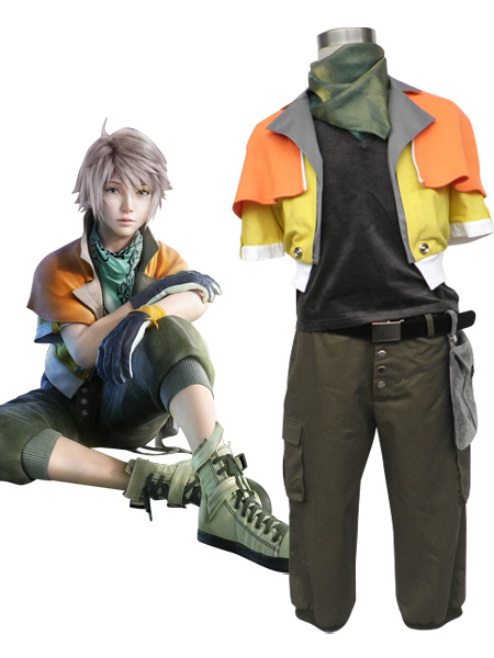 Milanoo Final Fantasy XIII Hope Estheim Cosplay Costume Halloween