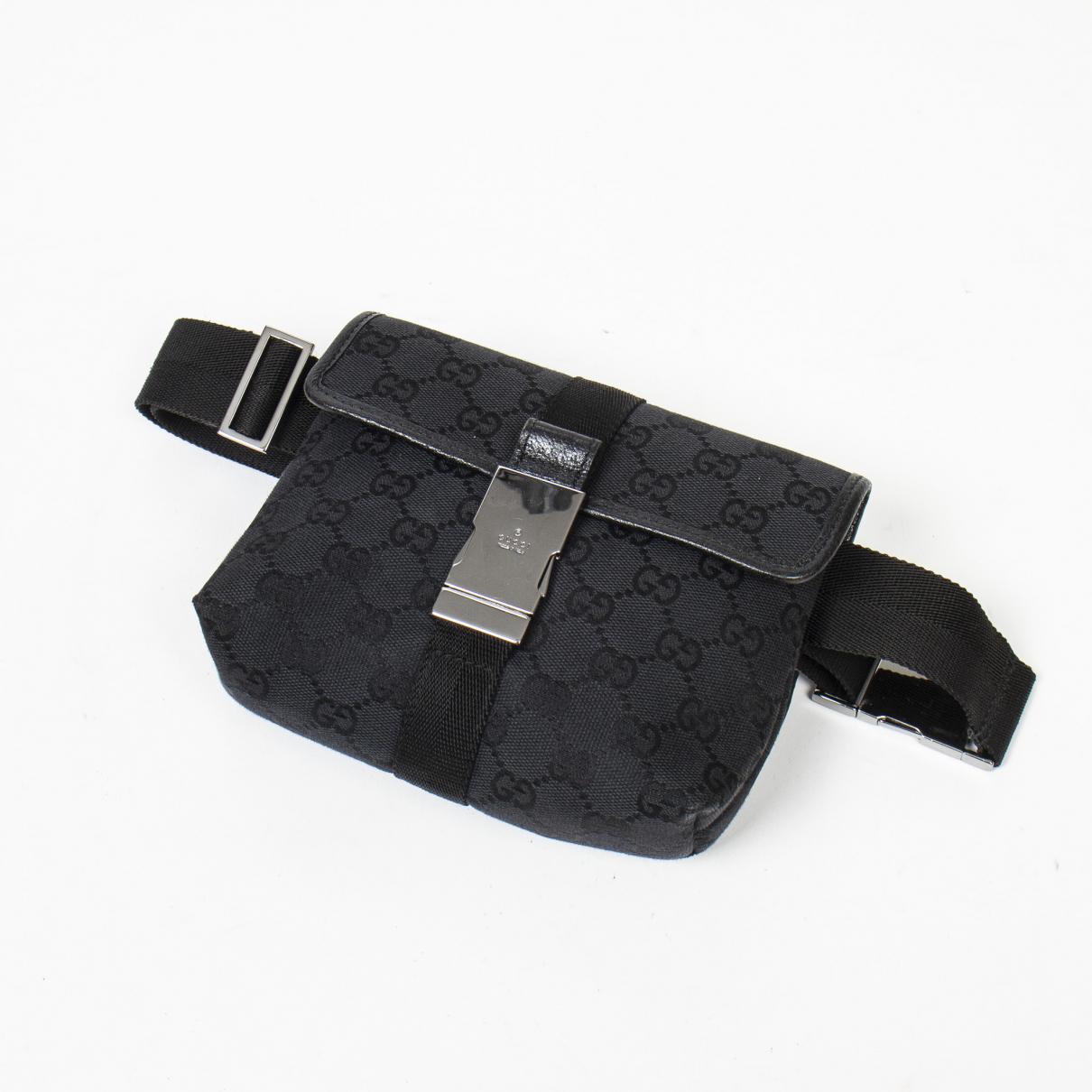 Gucci \N Black Cotton Clutch bag for Women \N
