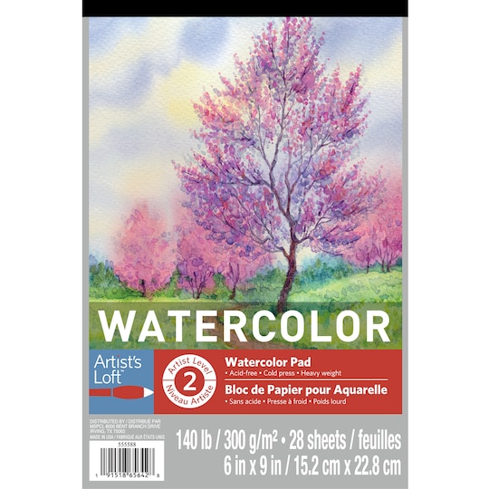 6 Pack: Watercolor Pad By Artist's Loft™, 6