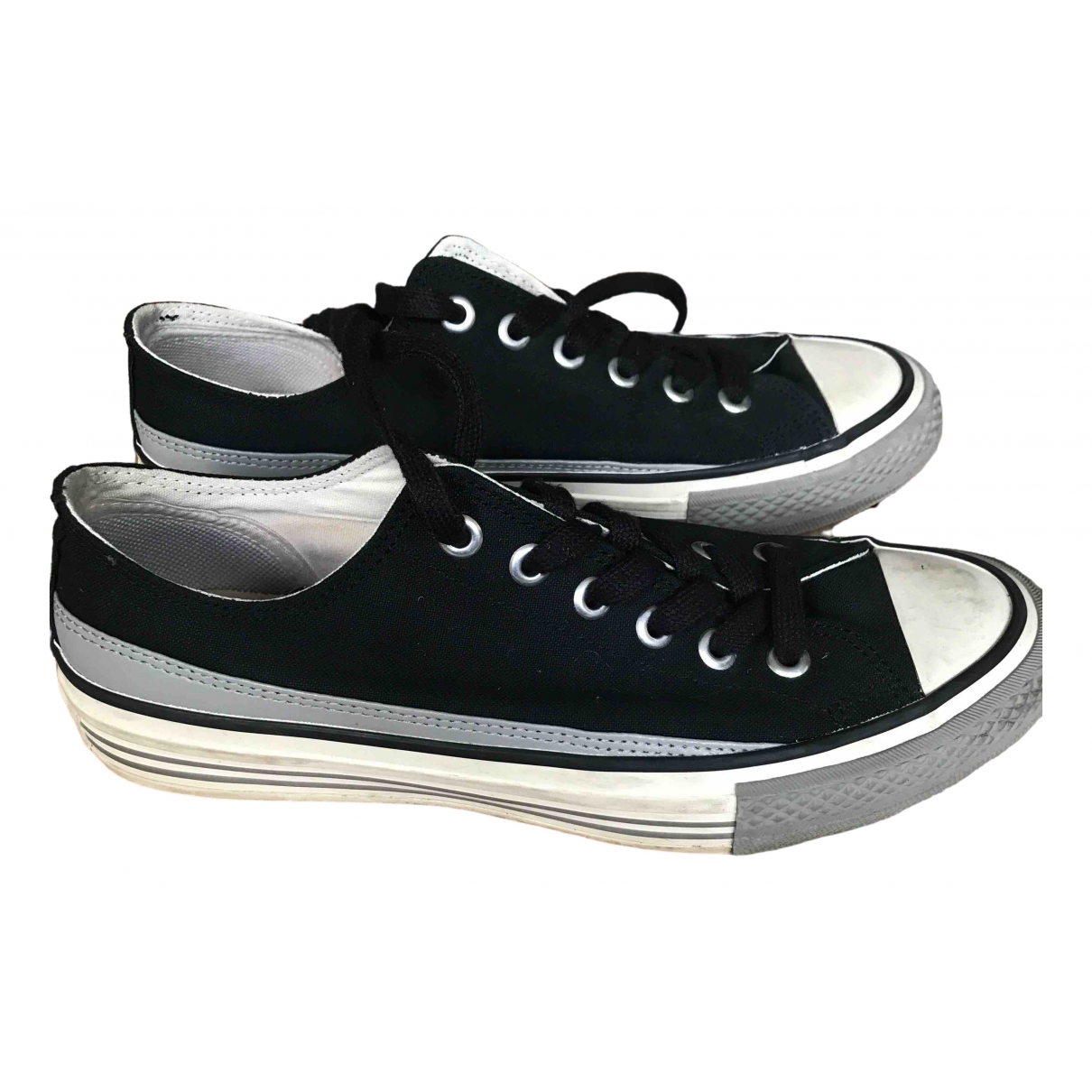 Undercover \N Black Cloth Trainers for Men 39.5 EU