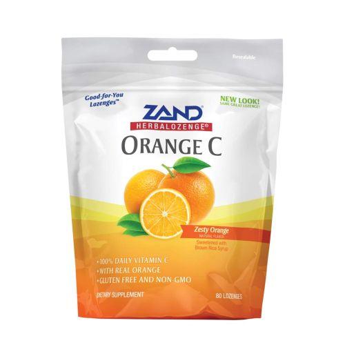 Lozenge Orange C 80 Count by Zand