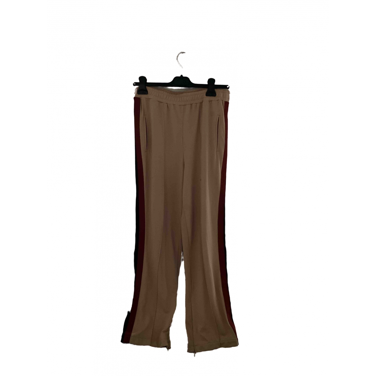 Ganni \N Multicolour Trousers for Women 36 FR