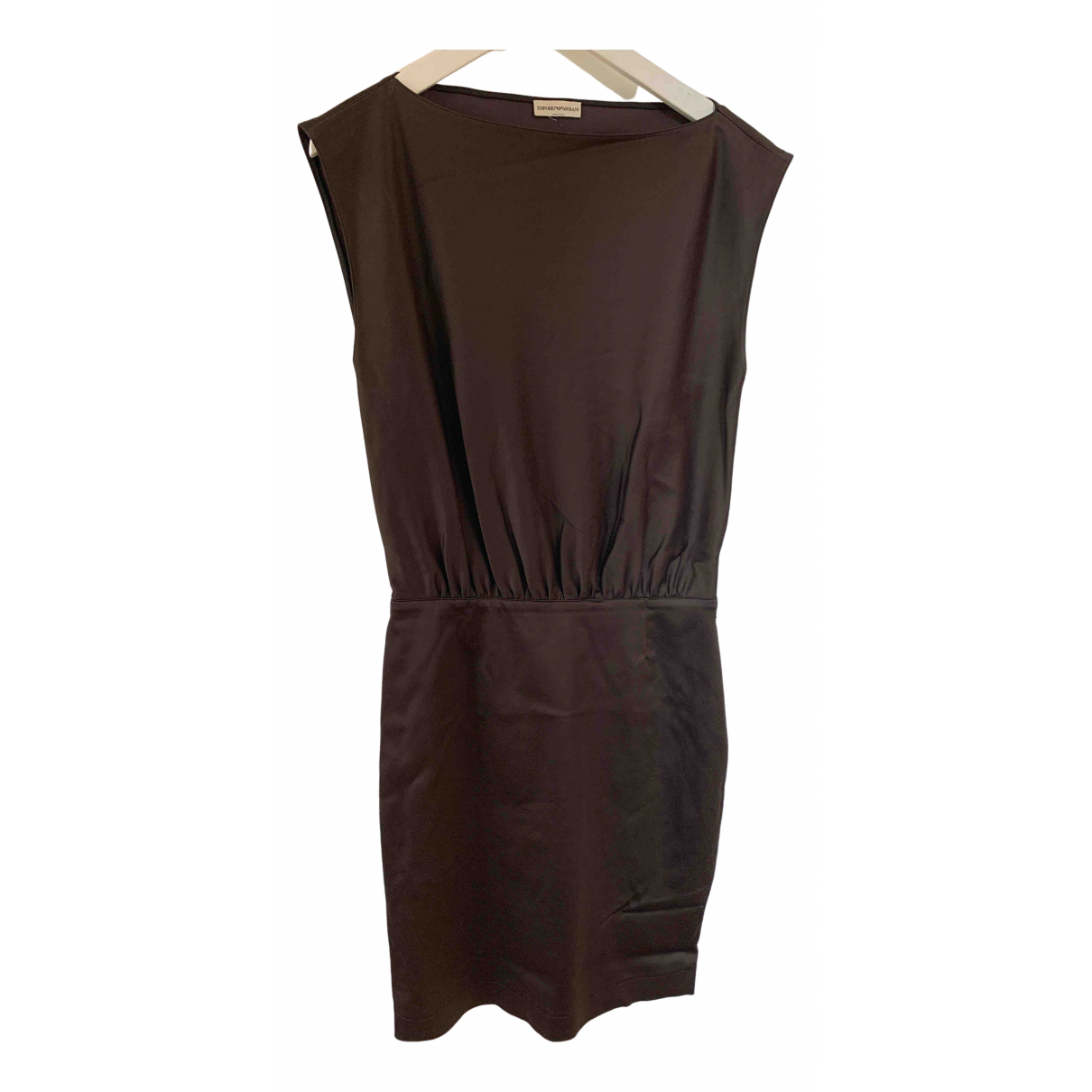 Emporio Armani \N Brown dress for Women 40 IT