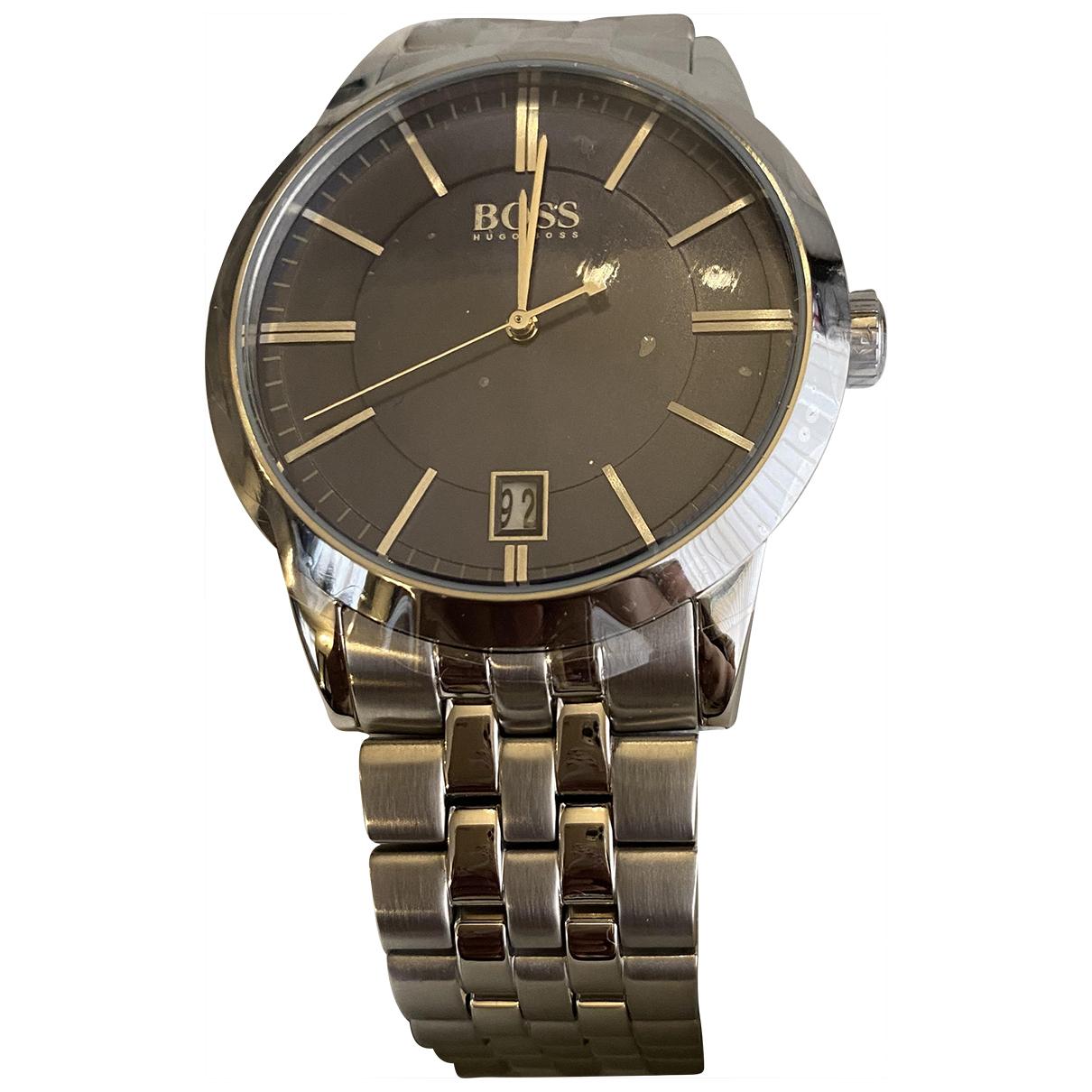 Hugo Boss \N Metallic Steel watch for Men \N