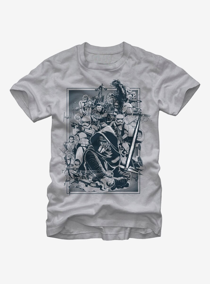 Star Wars Characters The Force Awakens T-Shirt