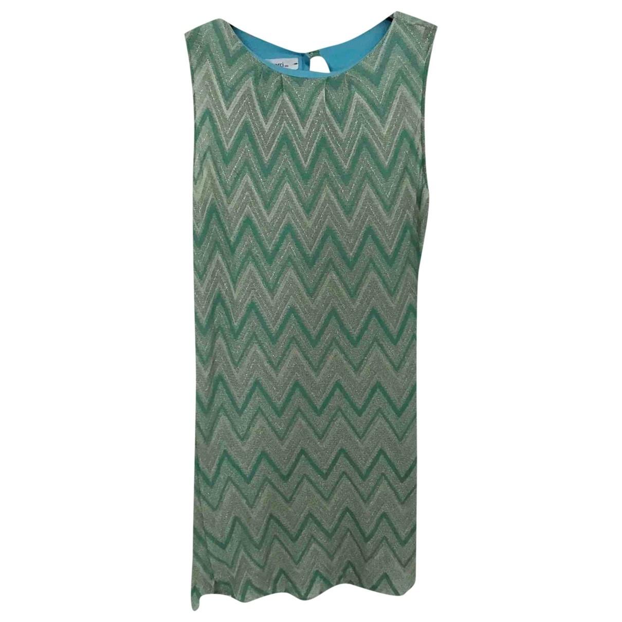 Merci \N Green Cotton dress for Women 42 IT
