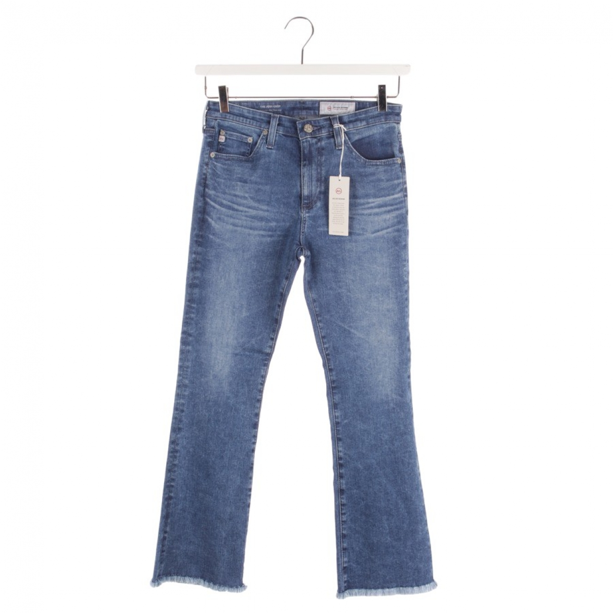 Ag Jeans \N Blue Cotton Jeans for Women 40 FR