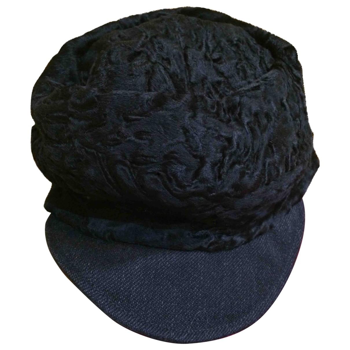 Marni \N Black Astrakhan hat for Women M International