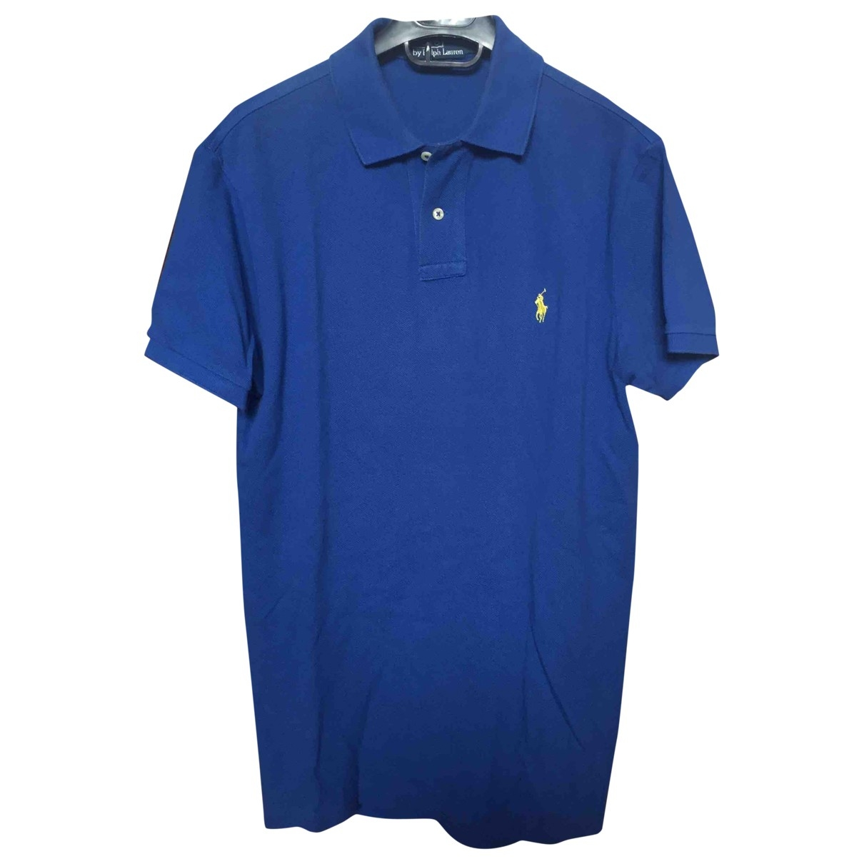 Polo Ralph Lauren \N Blue Cotton Polo shirts for Men M International
