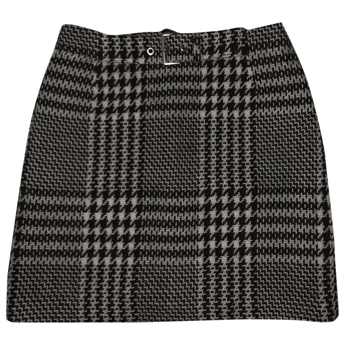 Non Signé / Unsigned \N Black skirt for Women 38 FR