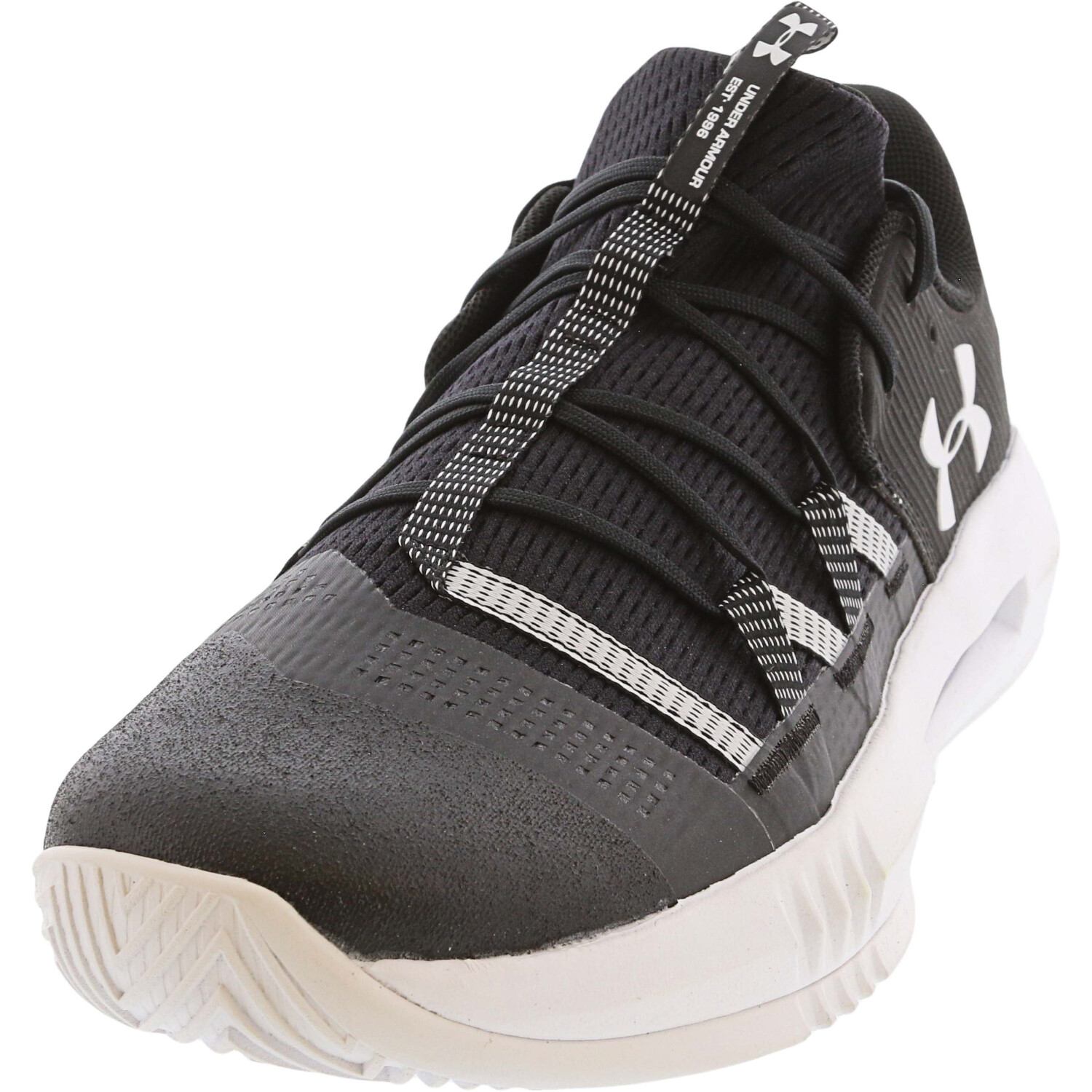 Under Armour Women's Block City 2.0 Black Ankle-High Mesh Women' - 12.5M