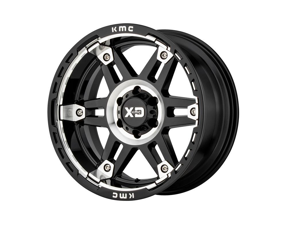XD Series XD84029068300 XD840 Spy II Wheel 20x9 6x6x139.7 +0mm Gloss Black Machined