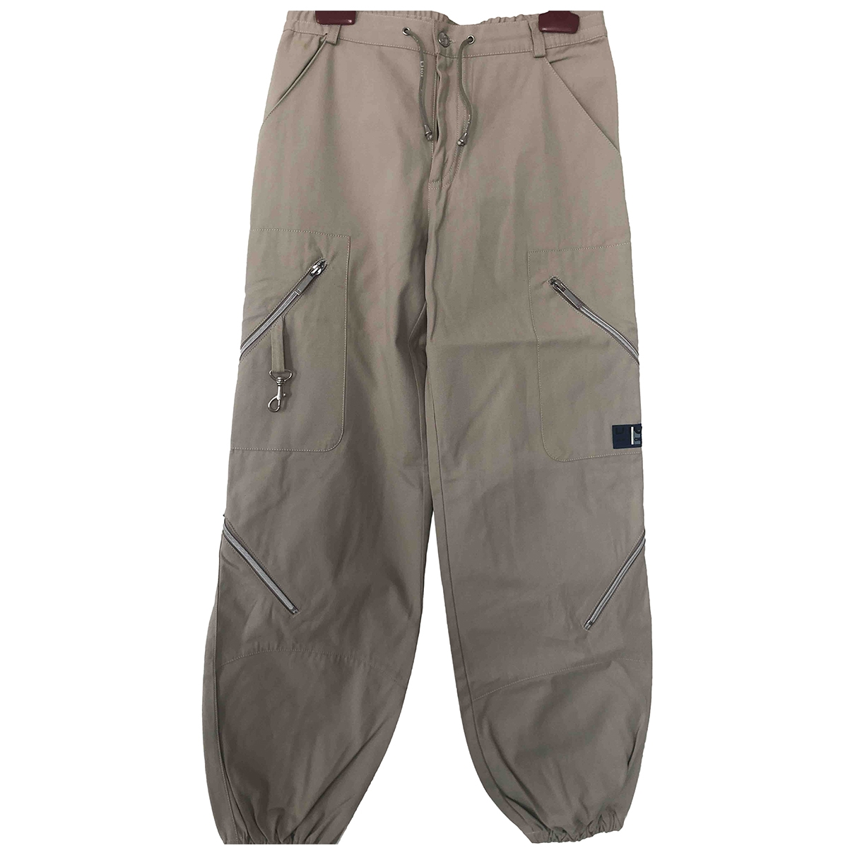 Dior \N Beige Cotton Trousers for Kids 12 years - XS FR
