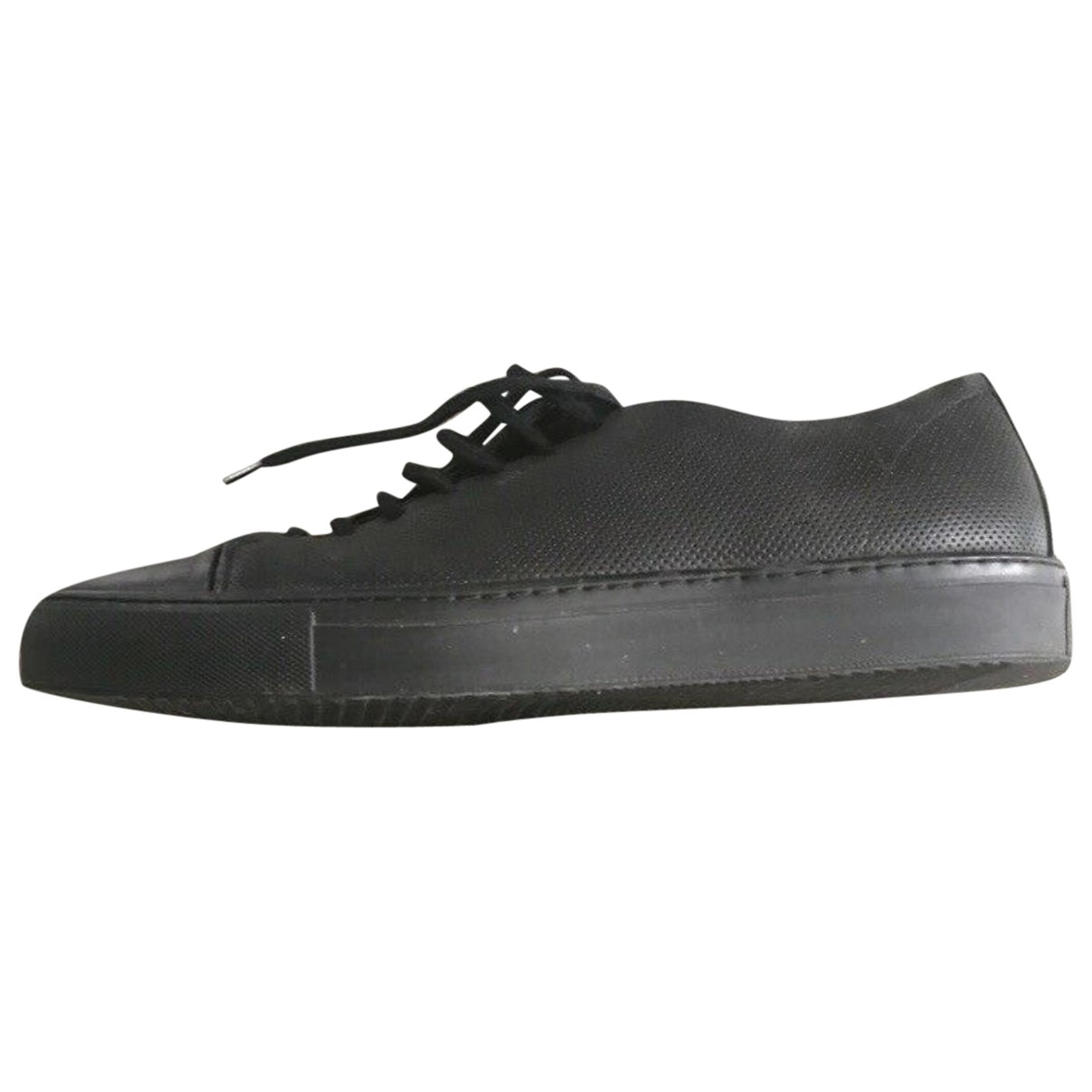 Axel Arigato \N Black Leather Trainers for Men 46 EU