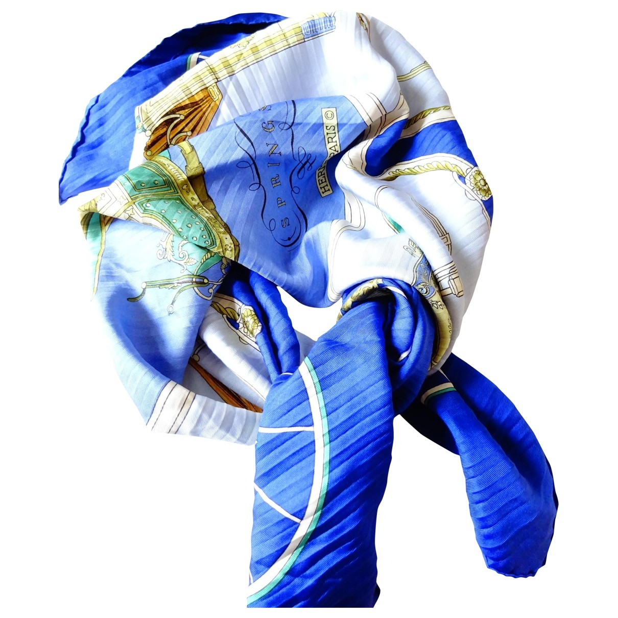 Hermès Plissé Multicolour Silk handkerchief for Women \N