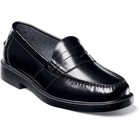 Nunn Bush Lincoln Mens Moc Toe Dress Penny Loafers, 8 1/2 Medium, No Color Family