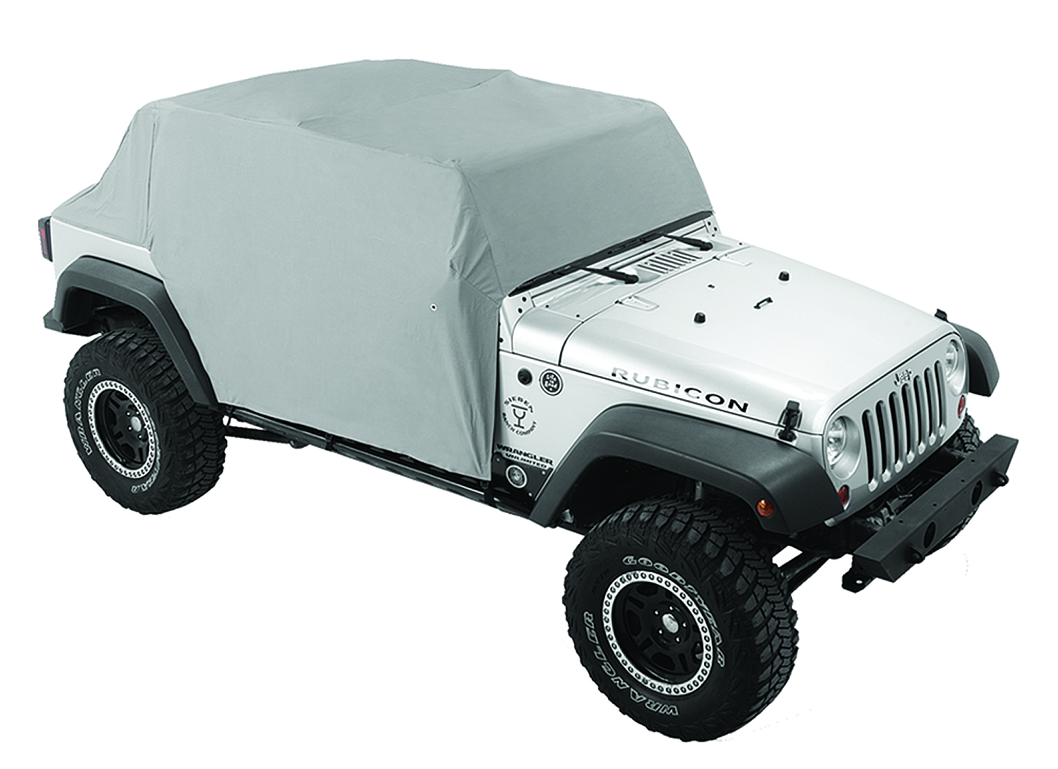 Pavement Ends 41731-09 By Bestop Charcoal Canopy Cover Jeep Wrangler 4-Door 2007-2018