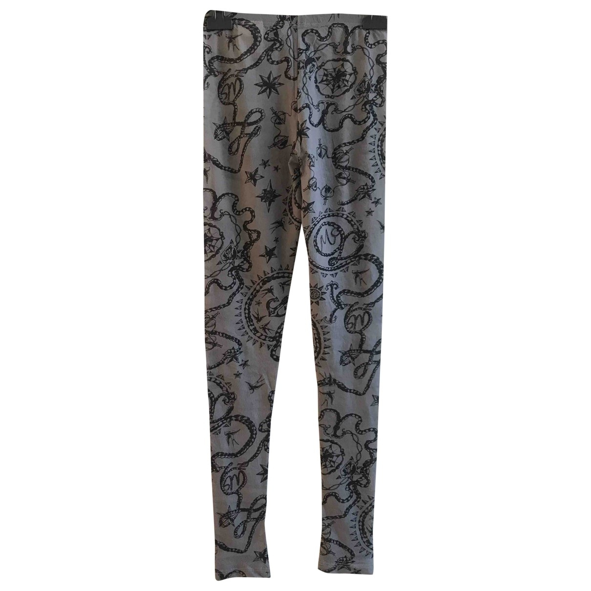 Mcq \N Grey Trousers for Women S International