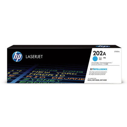 HP 202A CF501A Original Cyan Toner Cartridge