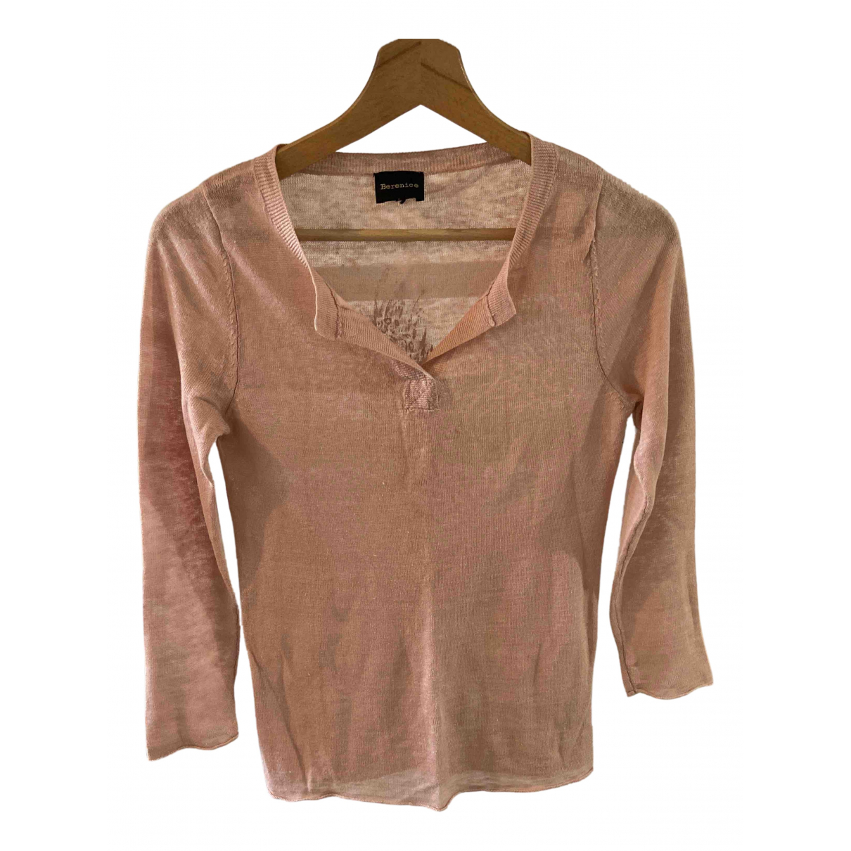 Berenice \N Pink Cotton  top for Women 36 FR