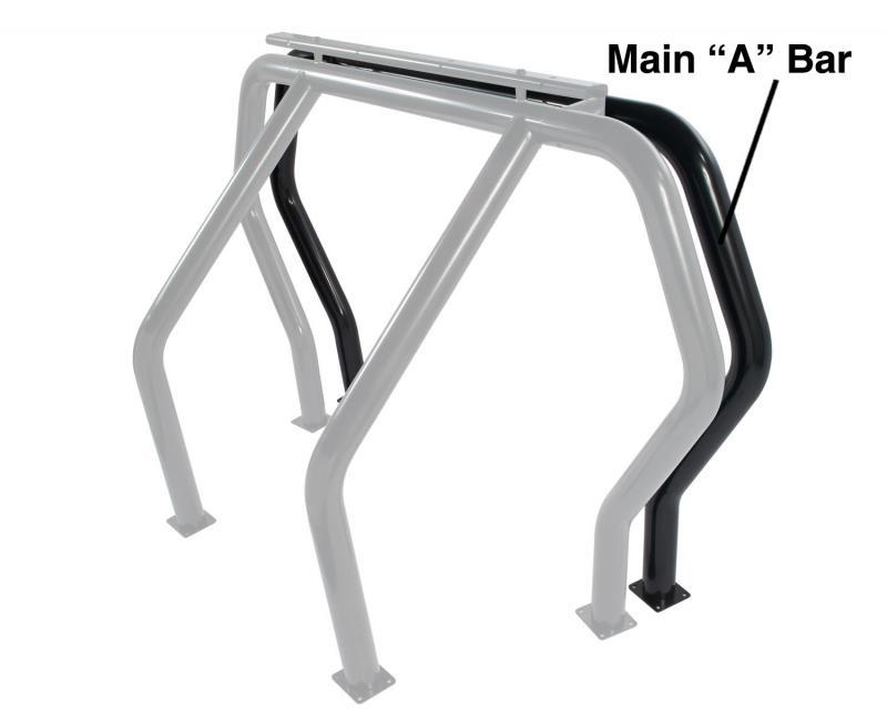 Go Rhino 91001B! Bed Bars - A Additional Bar