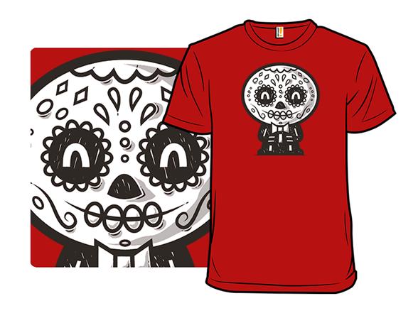 Doodle De Muertos T Shirt