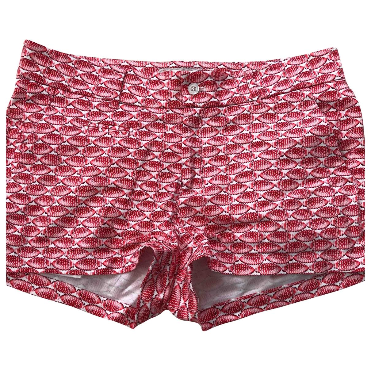 Paul & Joe Sister \N Pink Cotton - elasthane Shorts for Women 40 FR