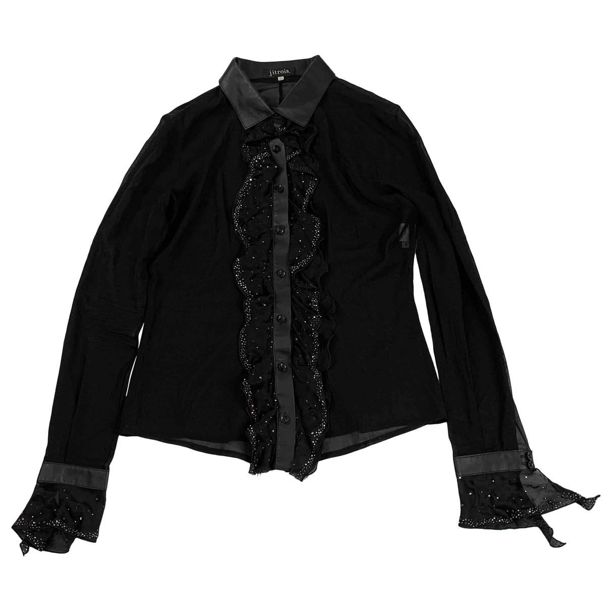 Jitrois \N Black Silk  top for Women 40 FR