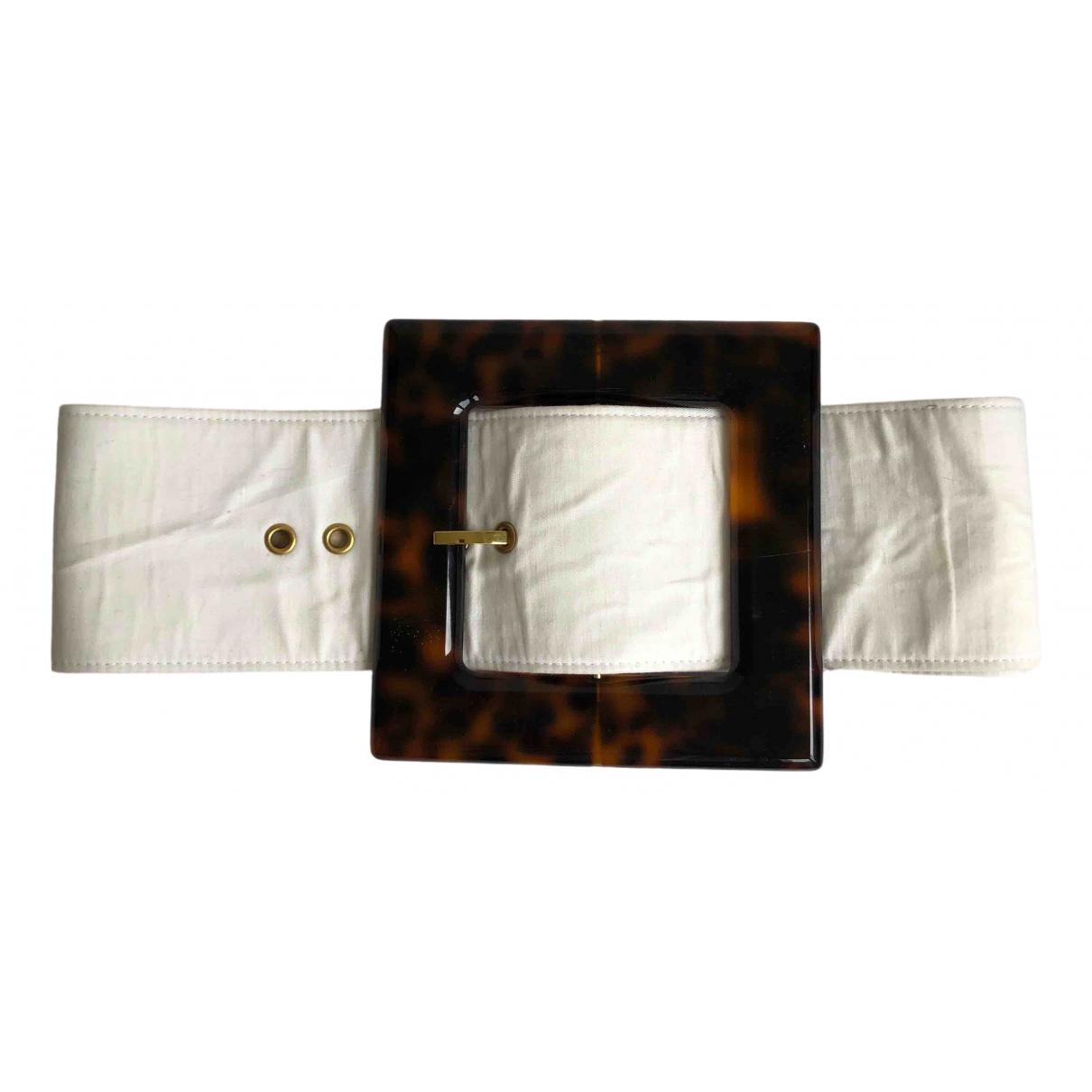Cult Gaia \N Beige Cotton belt for Women S International