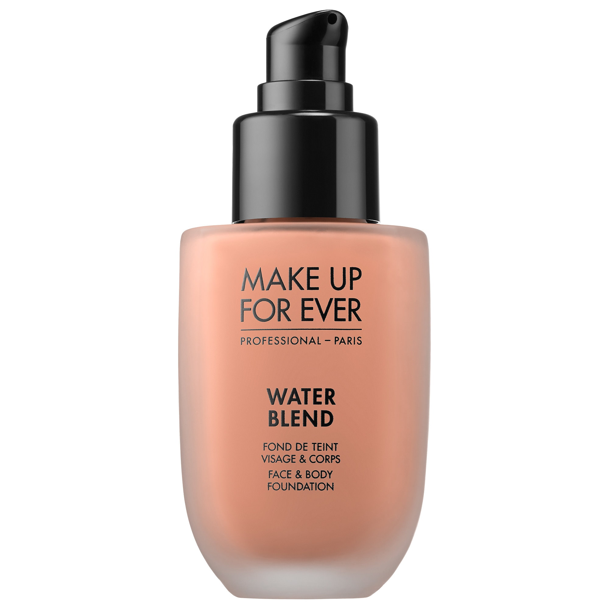 Water Blend Face & Body Foundation - Y445 - Amber