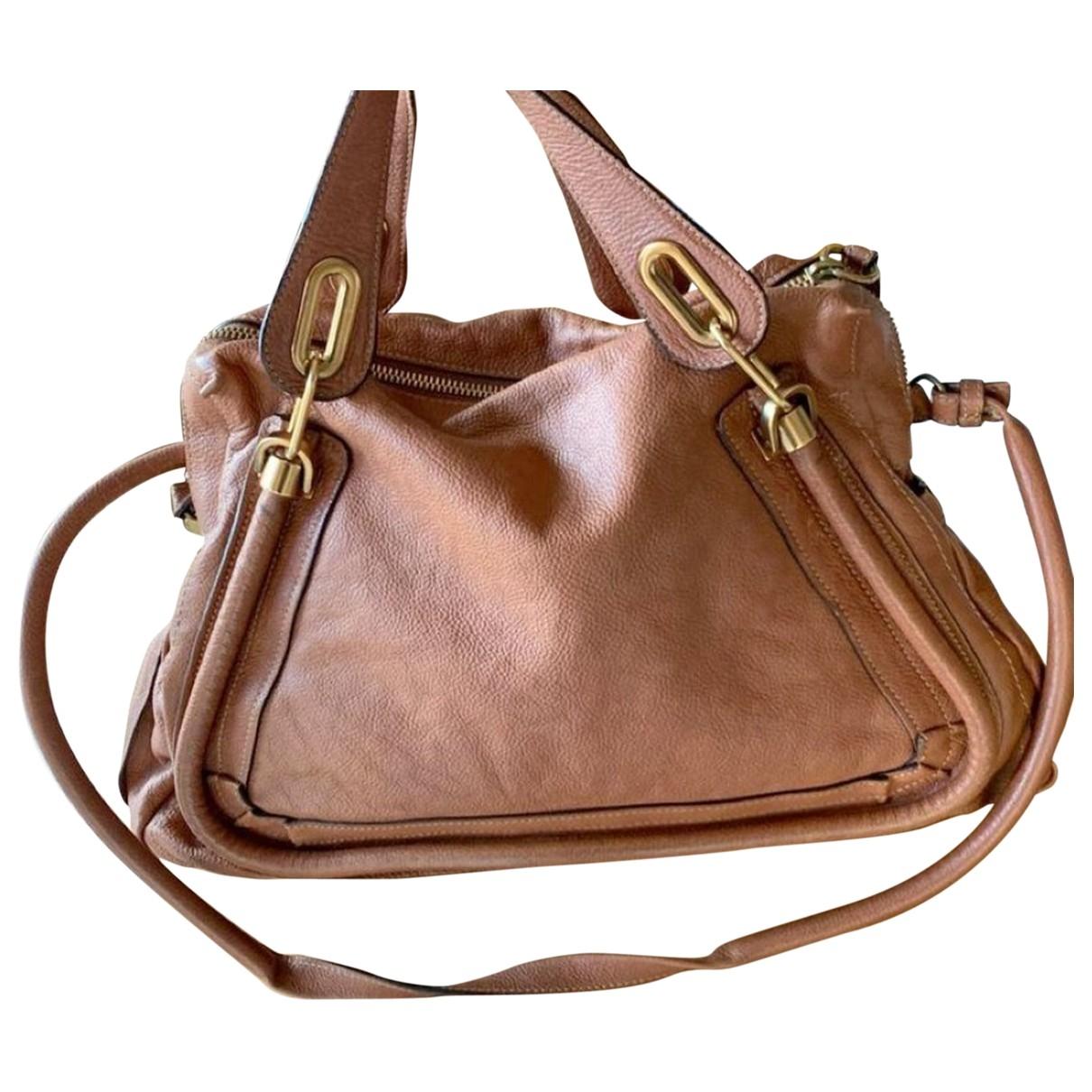 Chloé Paraty Camel Leather handbag for Women \N