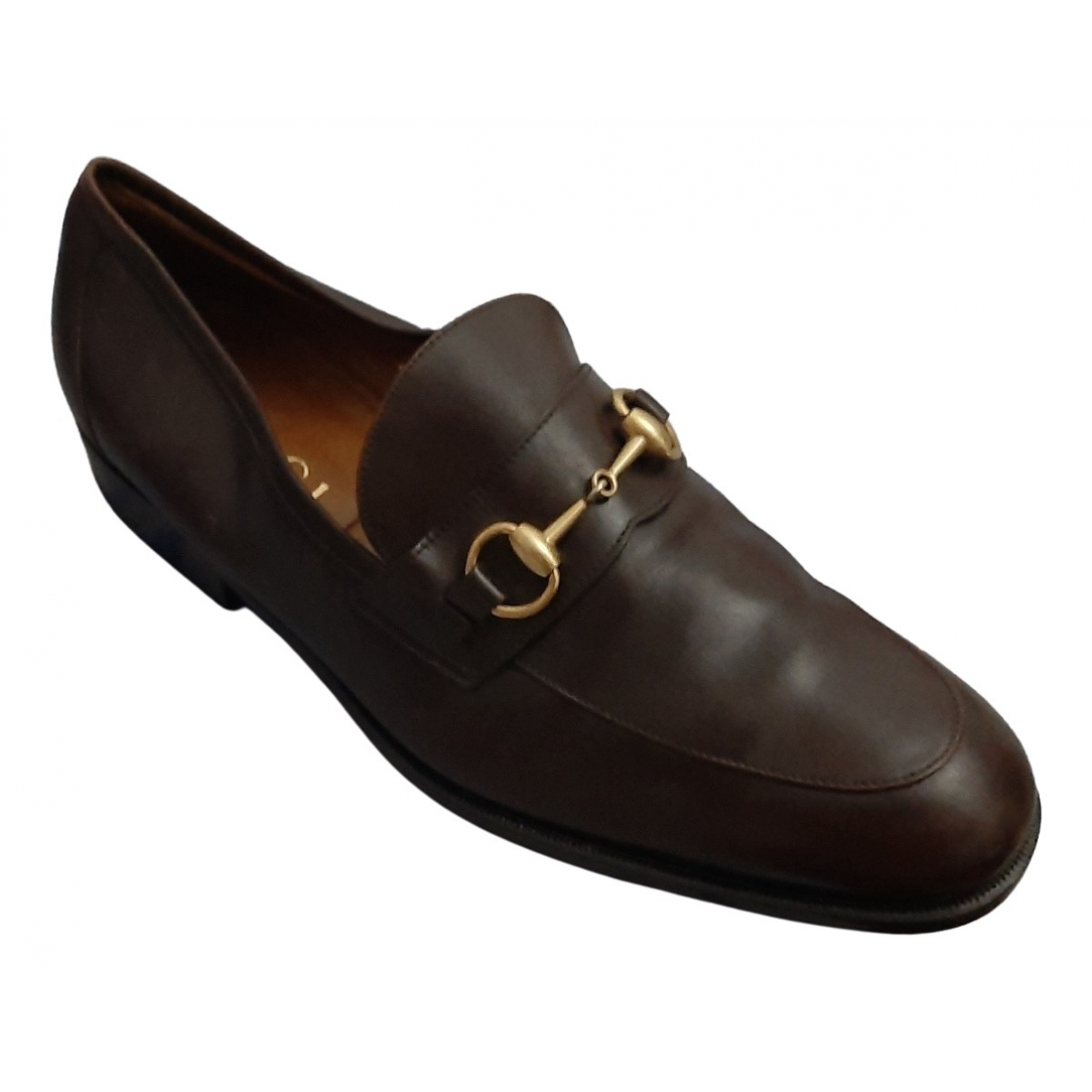 Gucci \N Brown Leather Lace ups for Men 42 EU