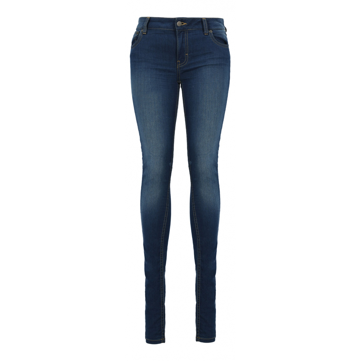 Red Valentino Garavani \N Blue Cotton Jeans for Women 44 FR