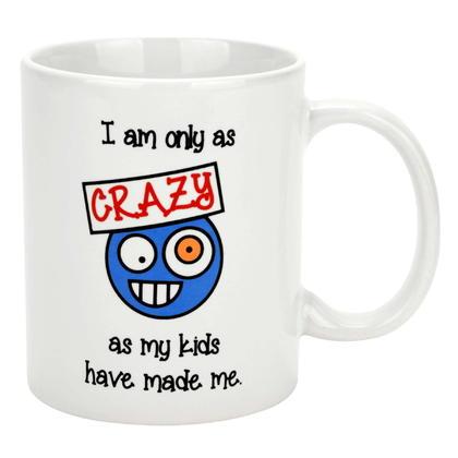 Ceramic Coffee Mug, 11 Ounce White